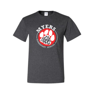 Picture of t-shirt with Myers Tigers emblem on front