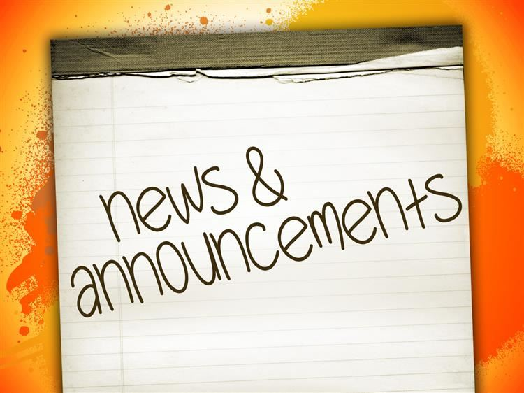 [Click] Daily Afternoon Announcements