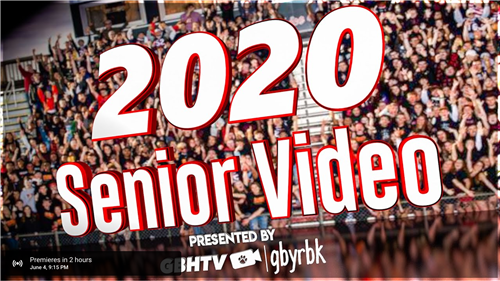 senior video image
