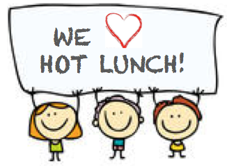 3 kids that love hot lunch