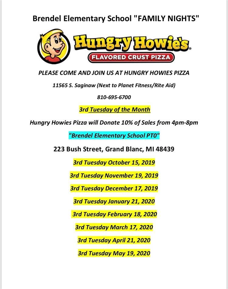 Hungry Howie's Gives Back